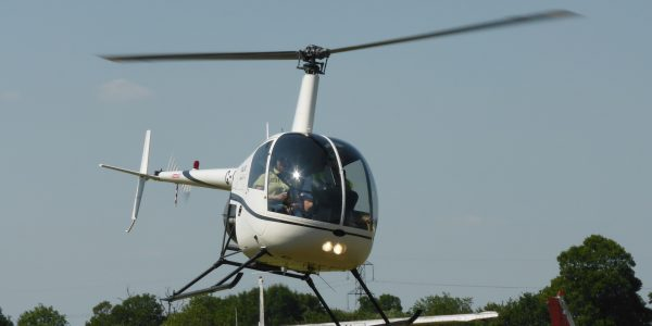Flying Pig Helicopters R22 G-HONI