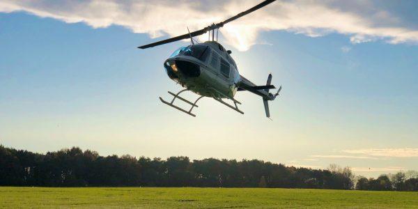 Jet Ranger G-NORK hover